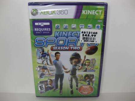 Kinect Sports Season Two (SEALED) - Xbox 360 Game